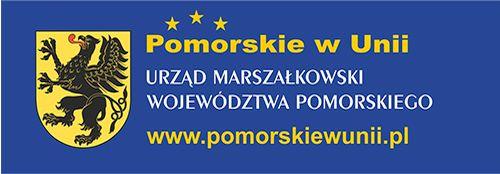 logo pomorskie w unii
