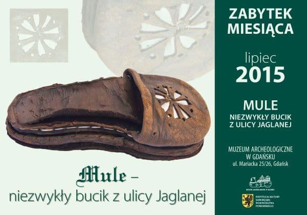 Mule - niezwykły bucik z ulicy Jaglanej