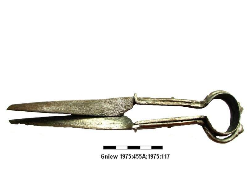17 nozyce zelazne XIV wiek