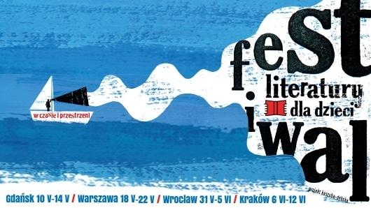 plakat festiwal literatury dla dzieci
