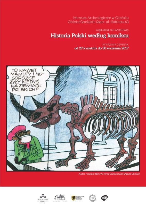 otwarcie wystawy0czasowej historia polski wg komiksu