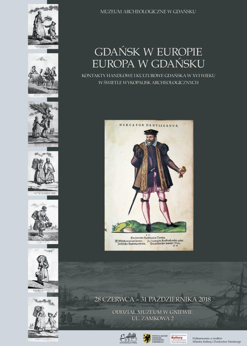 Gdansk w Europie plakat