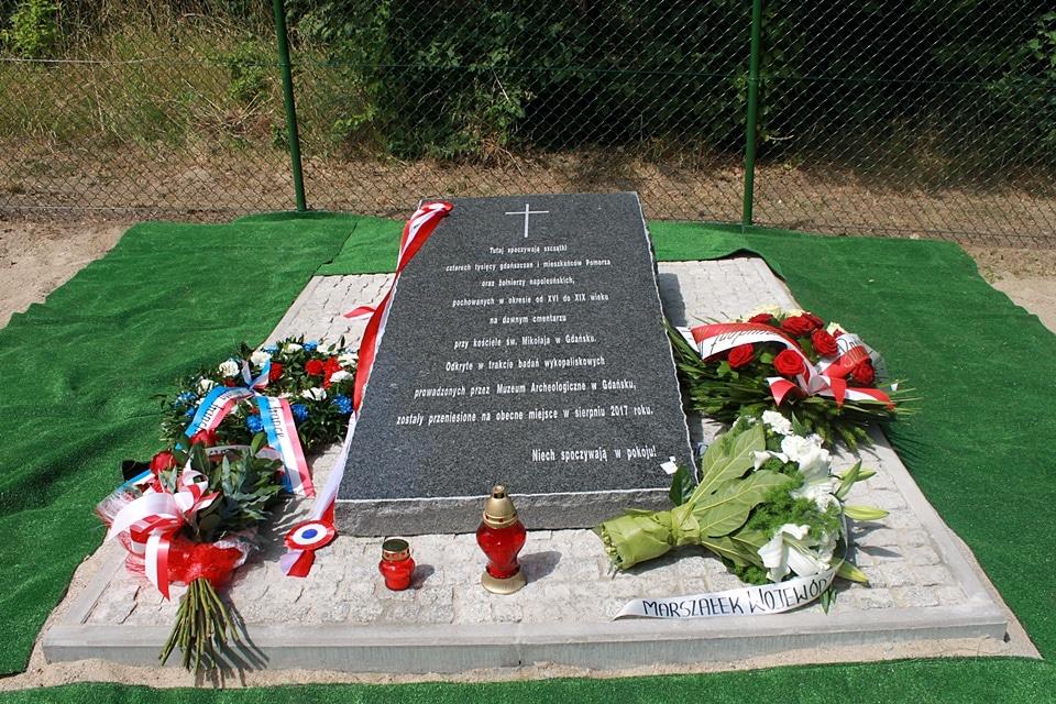 Pomnik poświęcony dawnym gdańszczanom oraz żołnierzom napoleońskim