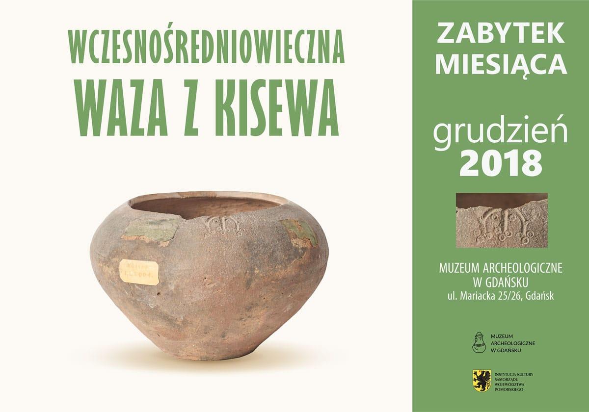 Wczesnośredniowieczna waza z Kisewa - plakat