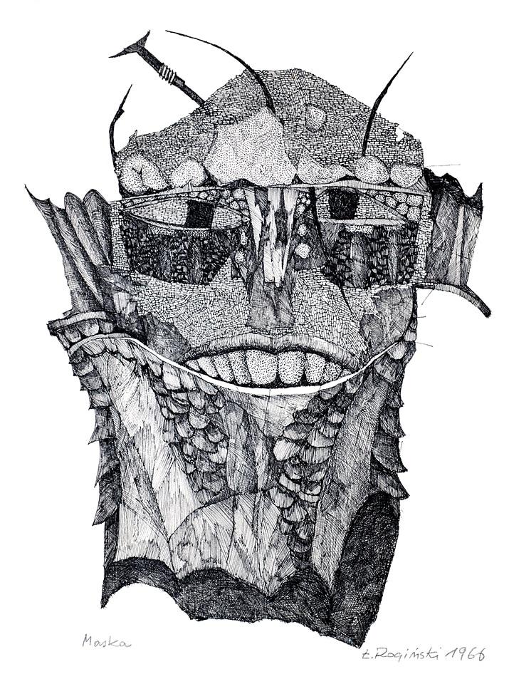 Maska - Łukasz Rogiński