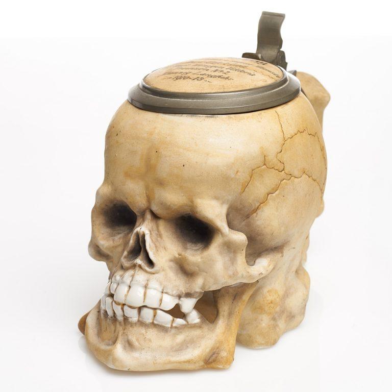 Kufel-czaszka