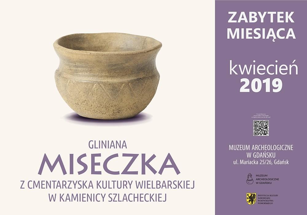 Gliniana miseczka (Muzeum Archeologiczne w Gdańsku)