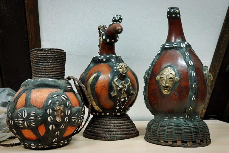 Naczynnia ceramiczne przepięknie dekorowane