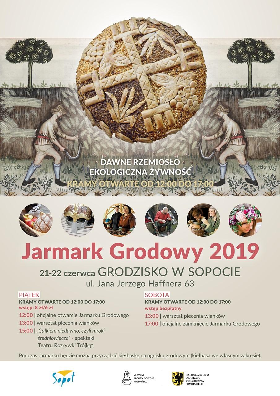 Jarmark Grodowy 2019 - plakat