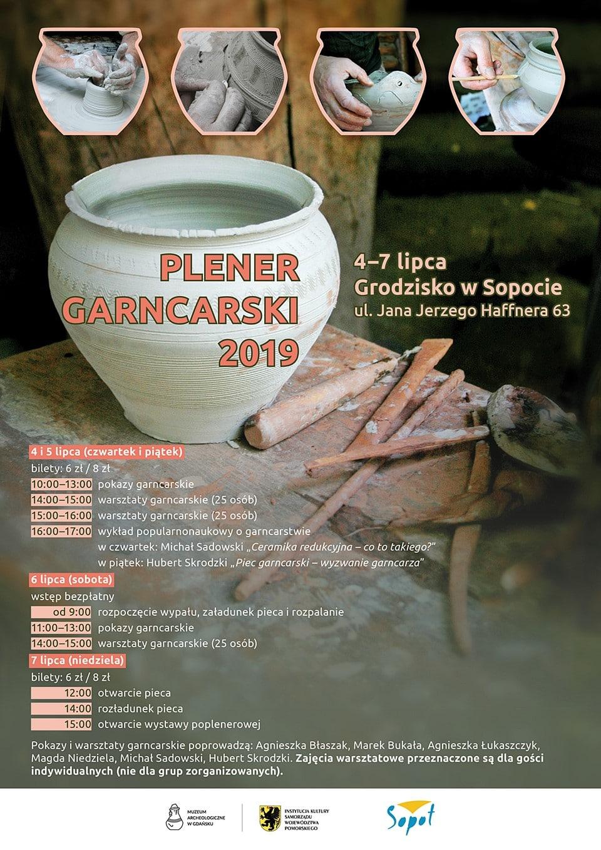 Plener Garncarski 2019 - plakat