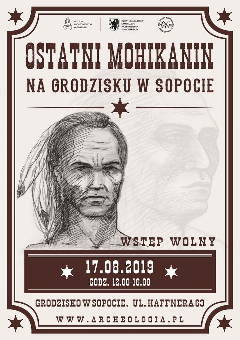 Ostatni Mohikanin na Grodzisku - edycja 2019 - plakat