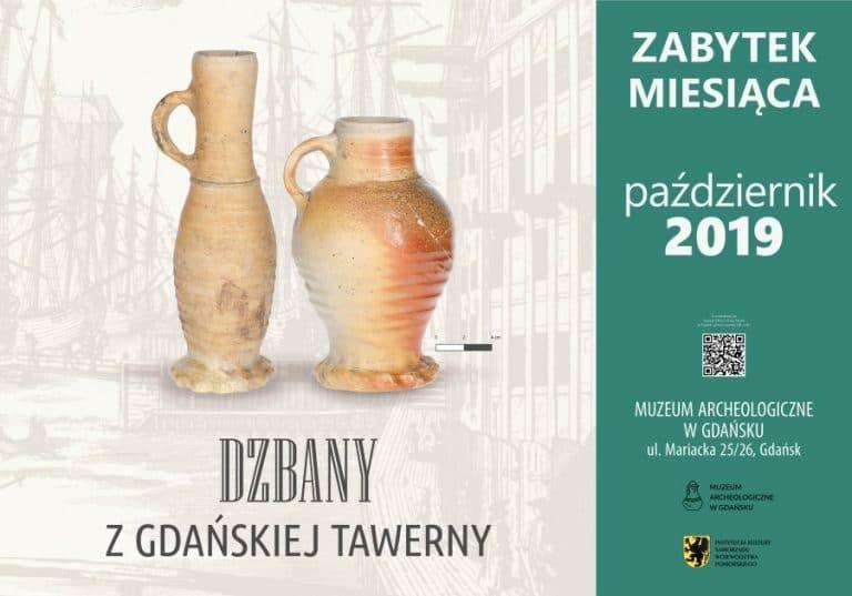 Dzbany z gdańskiej tawerny - plakat