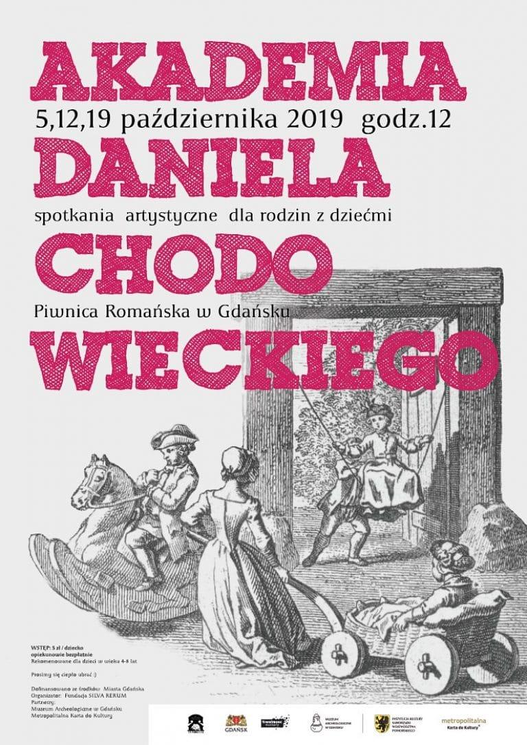 Akademia Daniela Chodowieckiego - plakat