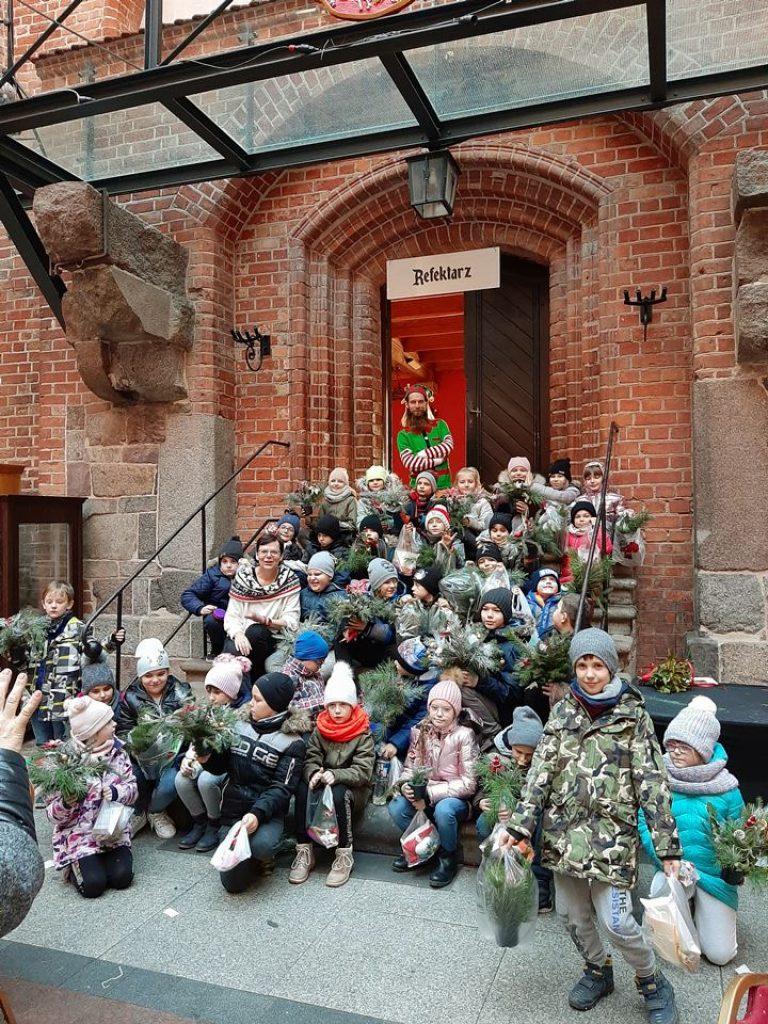 Spotkanie z muzealnym Mikołajem w Gniewie