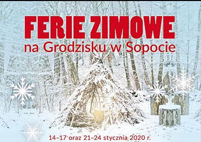 Ferie zimowe 2020 na Grodzisku