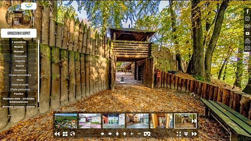 Wirtualny spacer po Grodzisku w Sopocie