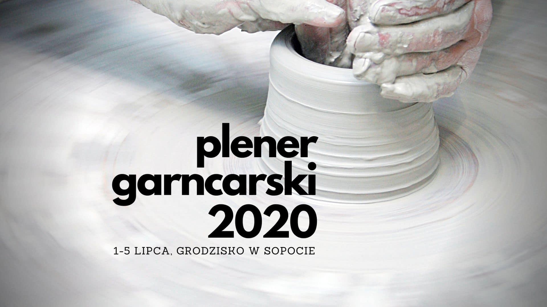 Plener Garncarski 2020 - baner