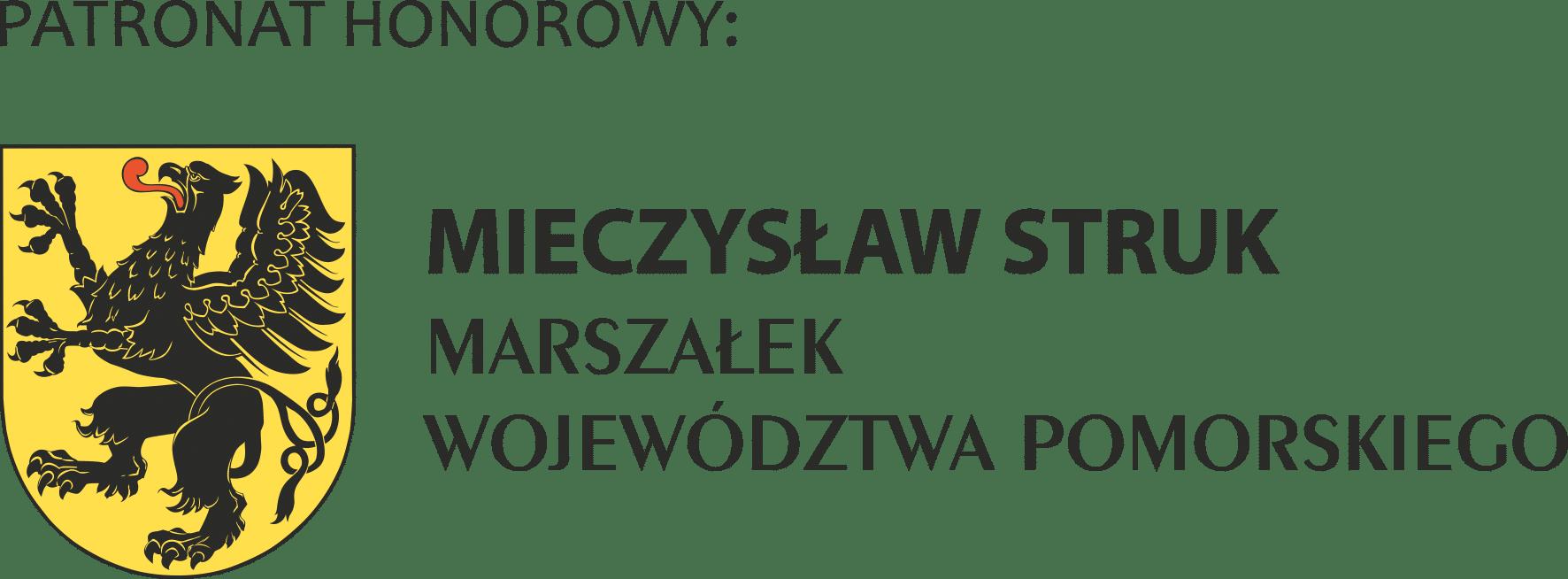 PATRONAT HONOROWY MARSZALEK WOJEWODZTWA POMORSKIEGO poziom prawa RGB ONLY FOR WEB 2012