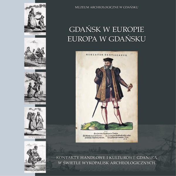 """""""Gdańsk w Europie..."""" - okładka katalogu wystawowego"""