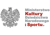 Małe logo Ministerstwo Kultury, Dziedzictwa Narodowego i Sportu